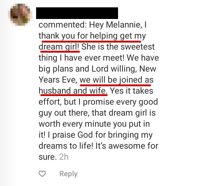 Testimonial 3 Coach Melannie Christian Dating Coach for Men.jpg